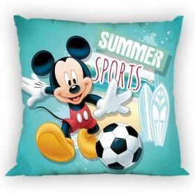 Povlak na polštářek Mickey Summer sports FR 12 - 40x40 cm, 100% polyester