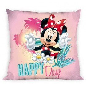 Povlak na polštářek Minnie Happy days FR 13 - 40x40 cm, 100% polyester