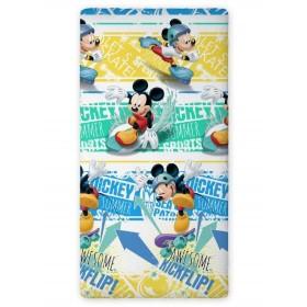 Prostěradlo Mickey Summer Sports FR 03 - 90x200 cm, 100% bavlna