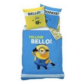 Obliečky Mimoni Yellow Bello - Minions 140x200, 70x90, 100% bavlna