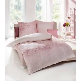 Makosaténové obliečky Silhouette rosé - 140x200, 70x90