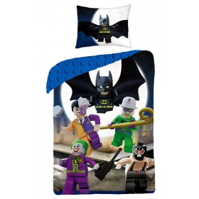 Povlečení LEGO Super Heroes - 140x200, 70x90, 100% bavlna
