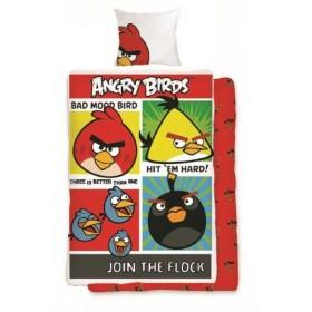 Povlečení Angry Birds 114 - 140x200, 70x80, 100% bavlna