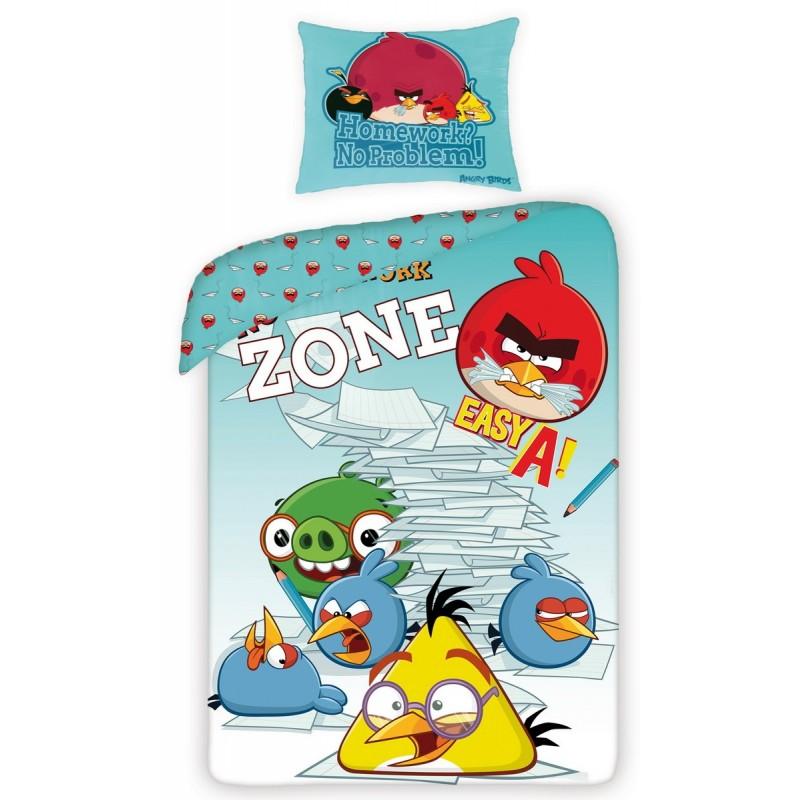 Povlečení Angry Birds 5011 - 140x200, 70x80, 100% bavlna