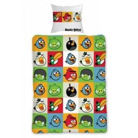 Obliečky Angry Birds 010 - 140x200, 70x80, 100% bavlna