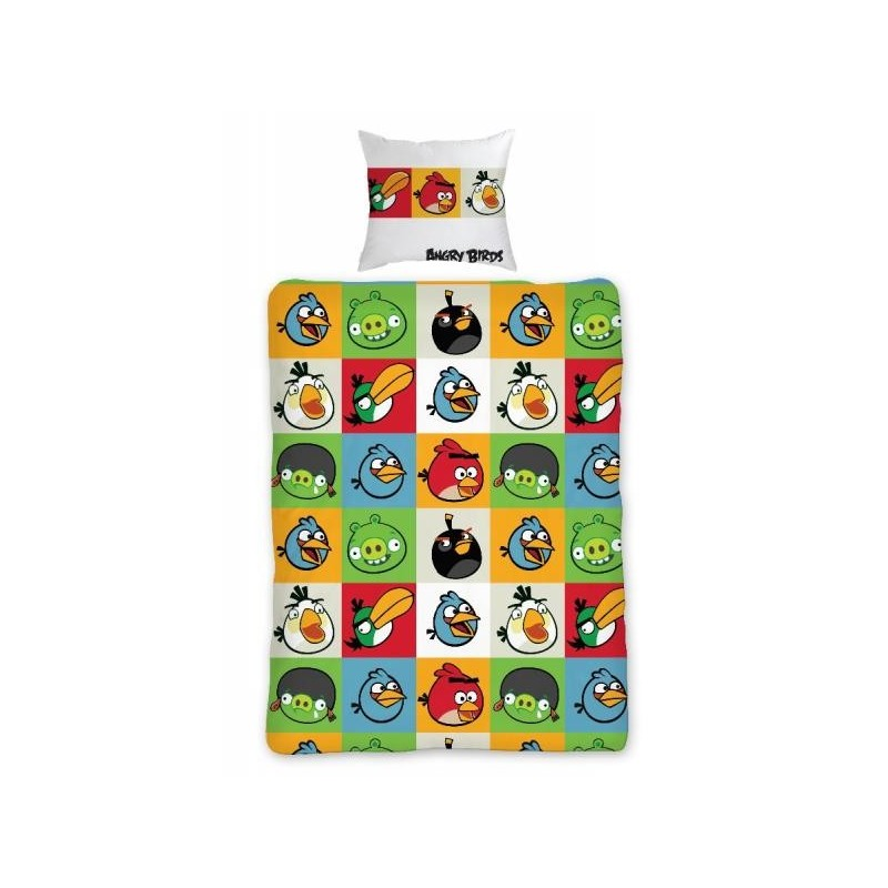 Povlečení Angry Birds 010 - 140x200, 70x80, 100% bavlna