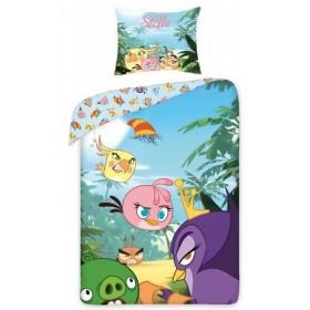 Povlečení Angry Birds 8001 - 140x200, 70x80, 100% bavlna
