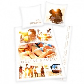 Povlečení Endless Summer - 135x200, 80x80, 100% bavlna
