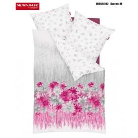 Makosaténové povlečení Konfetti růžové - 140x200, 70x90