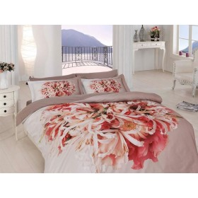 Obliečky Flor 3D 140x200, 70x90 - bavlněný satén