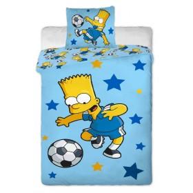 Povlečení Bart Simpson blue 2016 - 140x200, 70x90, 100% bavlna