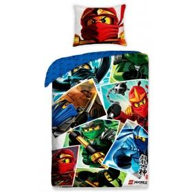 Povlečení LEGO Ninjagao I. - 140x200, 70x90, 100% bavlna