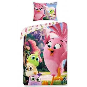 Obliečky Angry Birds Movie Stella -  140x200, 70x90, 100% bavlna