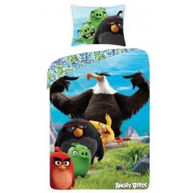 Obliečky Angry Birds Movie Bomber -  140x200, 70x90, 100% bavlna