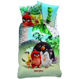 Povlečení Angry Birds Palm Beach -  140x200, 70x90, 100% bavlna