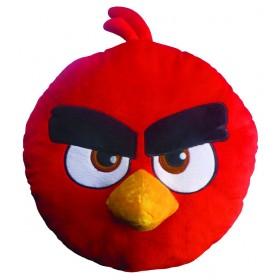 Polštářek Angry Birds 3D Red - 36x36 cm s výplní