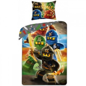 Povlečení LEGO NinjaGo 374 - 140x200, 70x90, 100% bavlna
