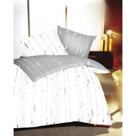 Makosaténové povlečení Cocoon bílé 140x200, 70x90