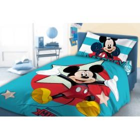 Fleecové povlečení Mickey - 140x200, 70x80