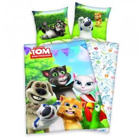 Herding povlečení Talking Tom - 140x200, 70x90, 100% bavlna