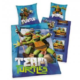 Povlečení Želvy Ninja Team - 140x200, 70x90, 100% bavlna