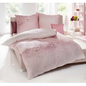 Flanelové povlečení Silueta rosé 140x200, 70x90