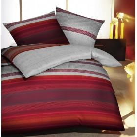 Flanelové obliečky Profile chili 140x200, 70x90