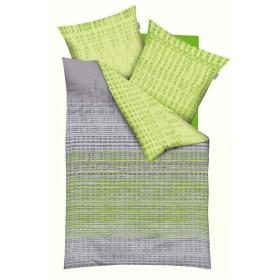 Makosaténové povlečení Interactiv zelené - 140x220, 70x90