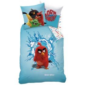 Obliečky Angry Birds RED -  140x200, 70x90, 100% bavlna
