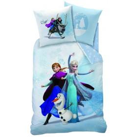 Povlečení Frozen Enjoy, 140x200, 70x90, 100% bavlna