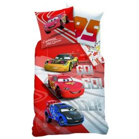 Povlečení Cars Go Go Go - 140x200, 70x90, bavlna