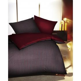 Makosaténové obliečky Eternity Combo rubín - 140x200, 70x90