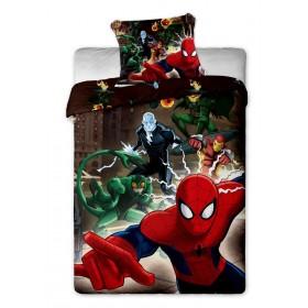 Povlečení Spiderman Brown JF- 140x200, 70x90, 100% bavlna