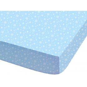 Prostěradlo Frozen Enjoy - 90x190/200 cm, 100% bavlna