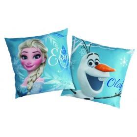 Polštářek Frozen Enjoy  (Ledové království) CTI - 40x40 cm s výplní