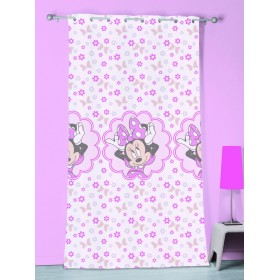 Záclona Disney Minnie Stylish Pink 140x240 cm