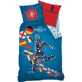 Obliečky UEFA Euro2016 - 140x200, 70x90 100% bavlna