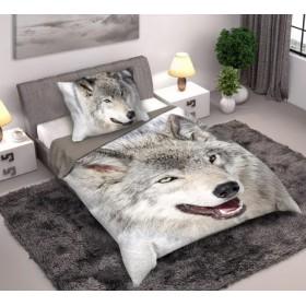Obliečky Vlk - 140x200, 70x80, 100% bavlna