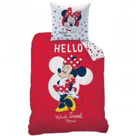 Povlečení Disney Minnie Hello - 140x200, 70x90