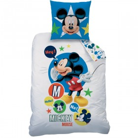 Obliečky Disney Mickey Expressions - 140x200, 70x90