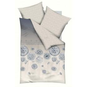 Makosaténové obliečky Substance šedé - 140x200, 70x90