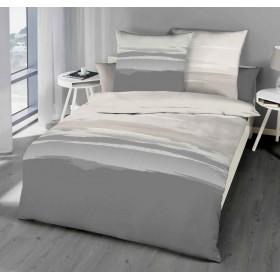 Makosaténové obliečky Lifetime šedé 140x200, 70x90