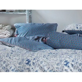 Luxusní povlečení PIP Buttons up Dark blue - 140x200, 70x90