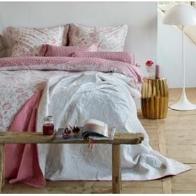 Luxusní povlečení PIP Buttons up pink - 140x200, 70x90