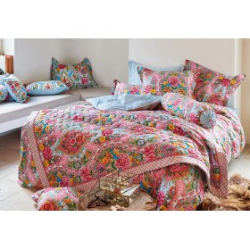 Luxusní obliečky PIP Melody khaki - 140x200, 70x90