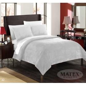 Velká mikroplyšová deka - přehoz přes postel Montana světle  šedá - 170x210 cm