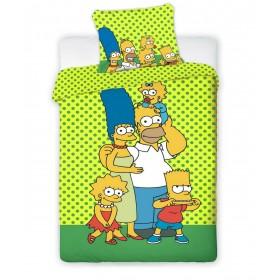 Povlečení Bart Simpson limetka - 140x200, 70x90, 100% bavlna
