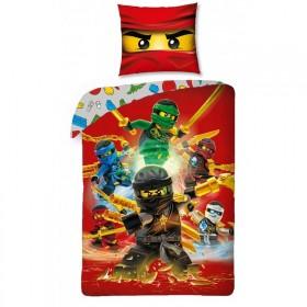 Povlečení LEGO NinjaGo 526 - 140x200, 70x90, 100% bavlna