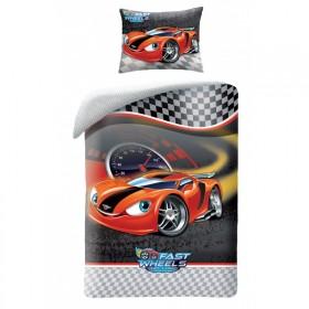 Obliečky Fast Wheels HX006 - 140x200, 70x90