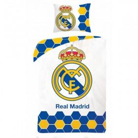 Obliečky FC Real Madrid HX13 - 140x200, 70x90, 100% bavlna